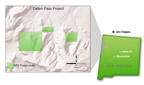 New Mexico Uranium Mining Projects – Dalton Pass