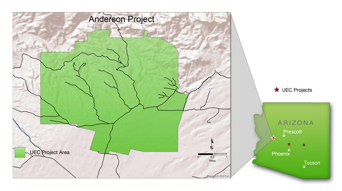 Arizona Uranium Mining Projects - Anderson