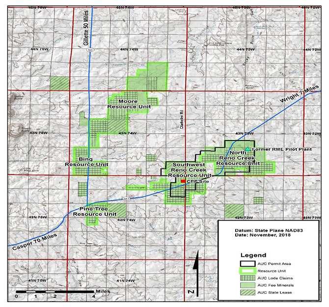 Map- UEC Mineral Summary 010919